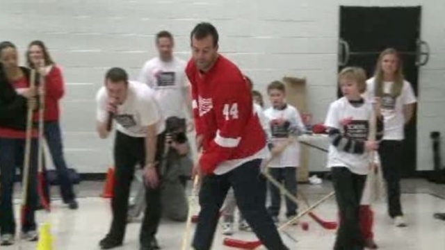 Todd Bertuzzi at School 2