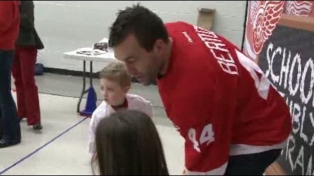 Todd Bertuzzi at School