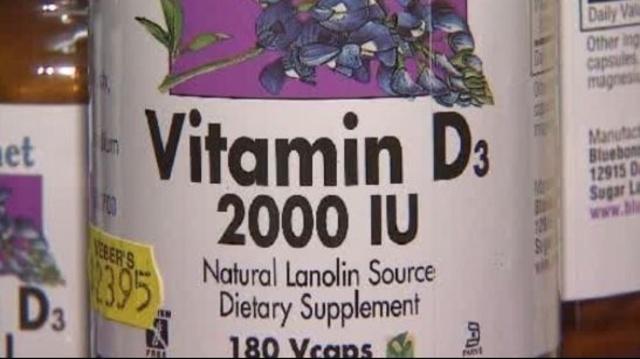 Vitamin D supplement 1
