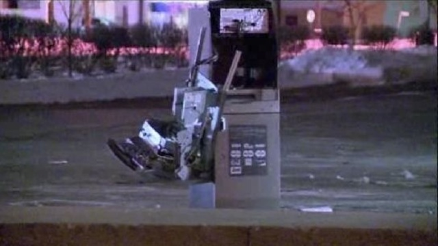 Warren CVS crash ATM