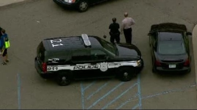 Warren police at Fitzgerald