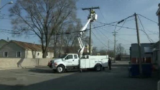 Warren power outages april 23