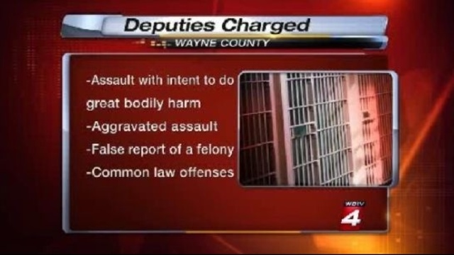 Wayne County deputies charges list
