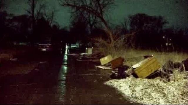 Woman's body found Louisiana Street Detroit 1
