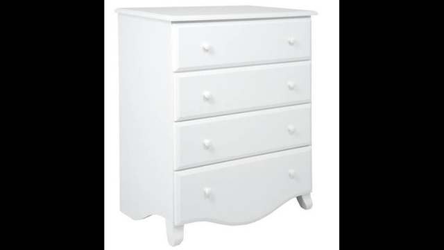 baby dresser recalled white