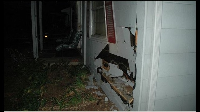 Car crash into Ferndale home