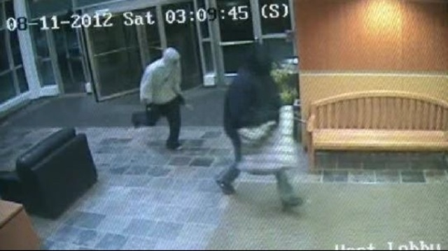 Robbers of pharmacy