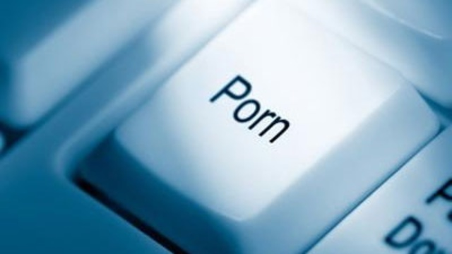 porn key on computer keyboard, Internet pornography