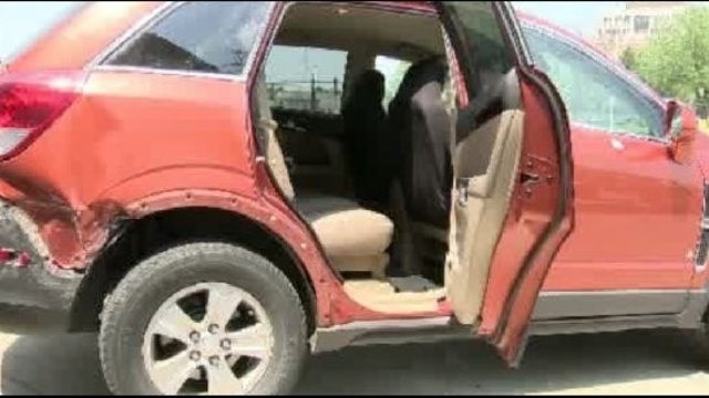 pregnant attack survivor SUV
