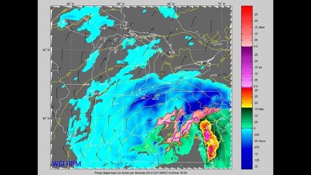 Winter storm 7 p.m. Wednesday