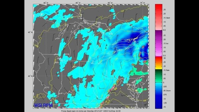 Winter storm 7 a.m. Thursday