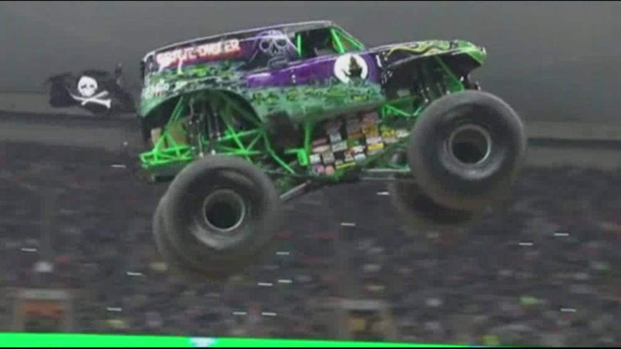 monster jam returns to ford field. Black Bedroom Furniture Sets. Home Design Ideas
