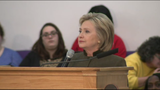 Clinton holds town hall meeting in Flint