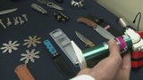 Defenders investigate dangerous items confiscated at airport