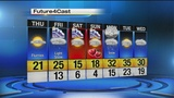 Sub-zero wind chills move in Thursday