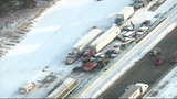 TRAFFIC UPDATE: Vehicle pileup on NB I-75 at Dixie in Monroe had traffic…