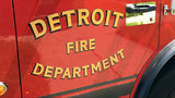 2 Detroit firefighters hurt battling fire on city's west side