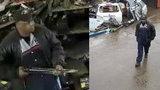 Detroit police seek shotgun-wielding robbery, assault suspect