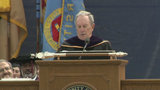 Bloomberg tells Michigan graduates to be wary of partisan politics