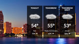 Saturday night wet, chilly in metro Detroit