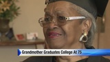 Detroit grandmother graduates college at age 75