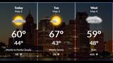 Wet, chilly start across Metro Detroit