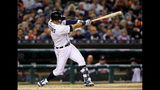 Iglesias' ninth-inning infield single gives Tigers 3-2 win