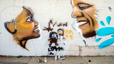 Flint mural features President Obama and 'Little Miss Flint'