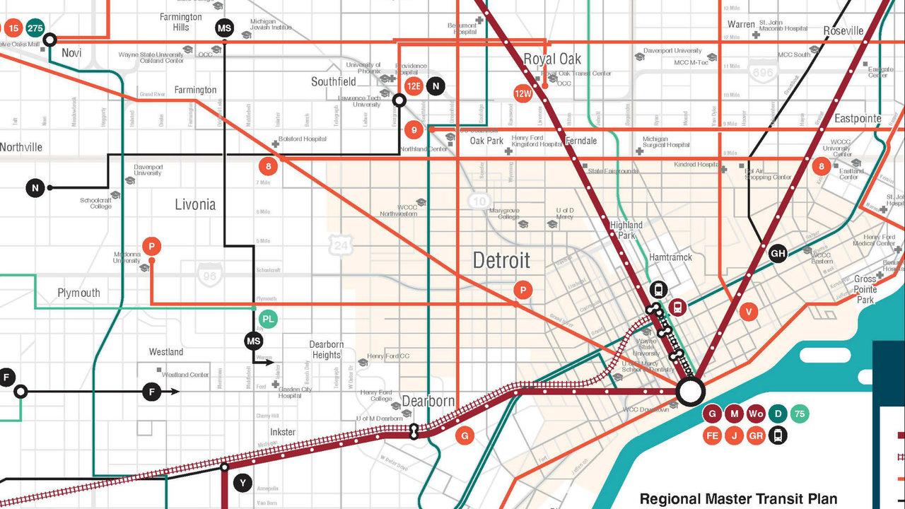 Regional Transit Plan For Metro Detroit Comes To
