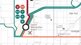 Getting to Detroit Metro Airport under RTA transit plan