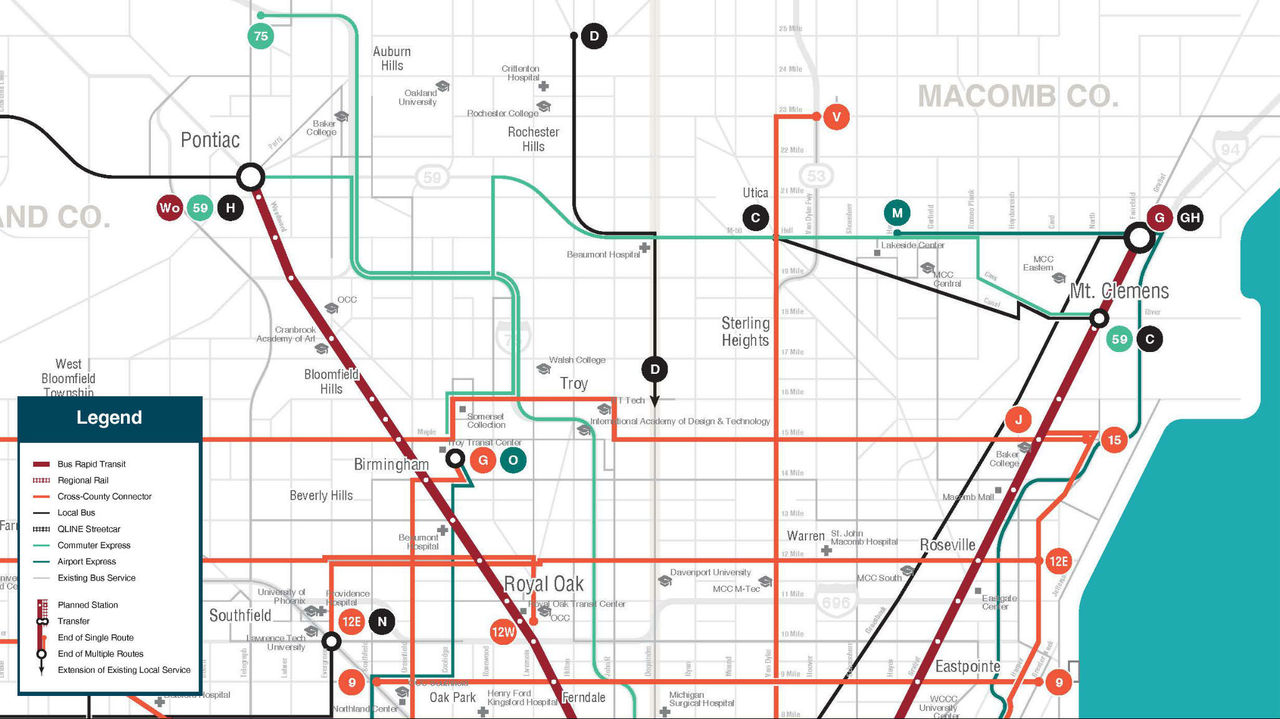 Breaking Down RTA39s Proposal For Macomb County
