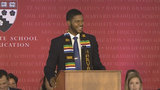 Social media buzzing over Harvard grad's spoken-word speech