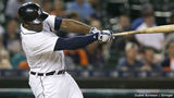 Collins, Upton hit 3-run homers as Tigers beat Astros 14-6