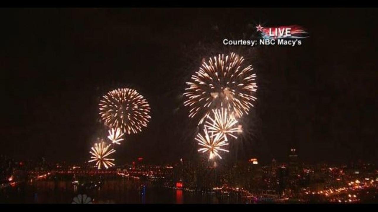Macy's 4th of July fireworks special to air at 8 p.m. tonight on Local 4
