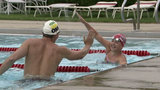 Michigan Olympian focuses on teaching Detroit kids to swim