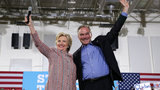 Clinton, Kaine make first official appearance in Miami