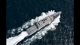 Future USS Detroit combat ship completes Navy's Acceptance Trial