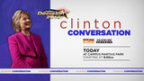 Join us today in Campus Martius park in Detroit for 'Clinton Conversation'