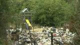 Detroit driver battles illegal dumping between rides