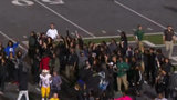 Video: Eastern Michigan students stage peaceful protest following football game