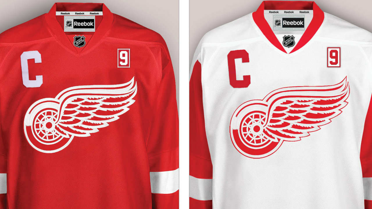 new concept a6019 82ba3 Red Wings to honor Gordie Howe with No. 9 patch on jerseys...