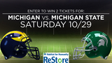 Win tickets to Michigan vs. Michigan State game!