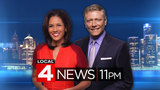 Watch Local 4 News at 11 p.m. -- Feb. 23, 2017