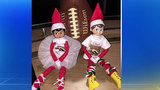 Elf on the Shelf: Local 4's 'Click' and 'Dee' #Rowtheboat for Western Michigan