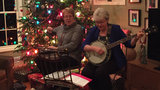 What's your holiday tradition? Kim DeGiulio's aunt plays the banjo