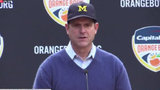 Jim Harbaugh quotes Sir Andrew on Ohio State loss: 'I'll rise to fight again'