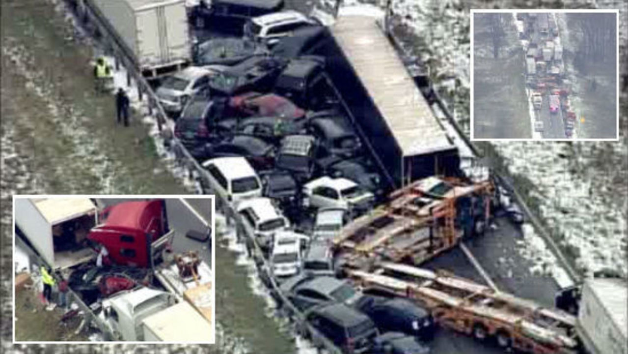 Investigators: Driver going too fast blamed for fatal pileup
