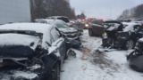 Several injured in 37-vehicle pileup on I-75 near Holly Road