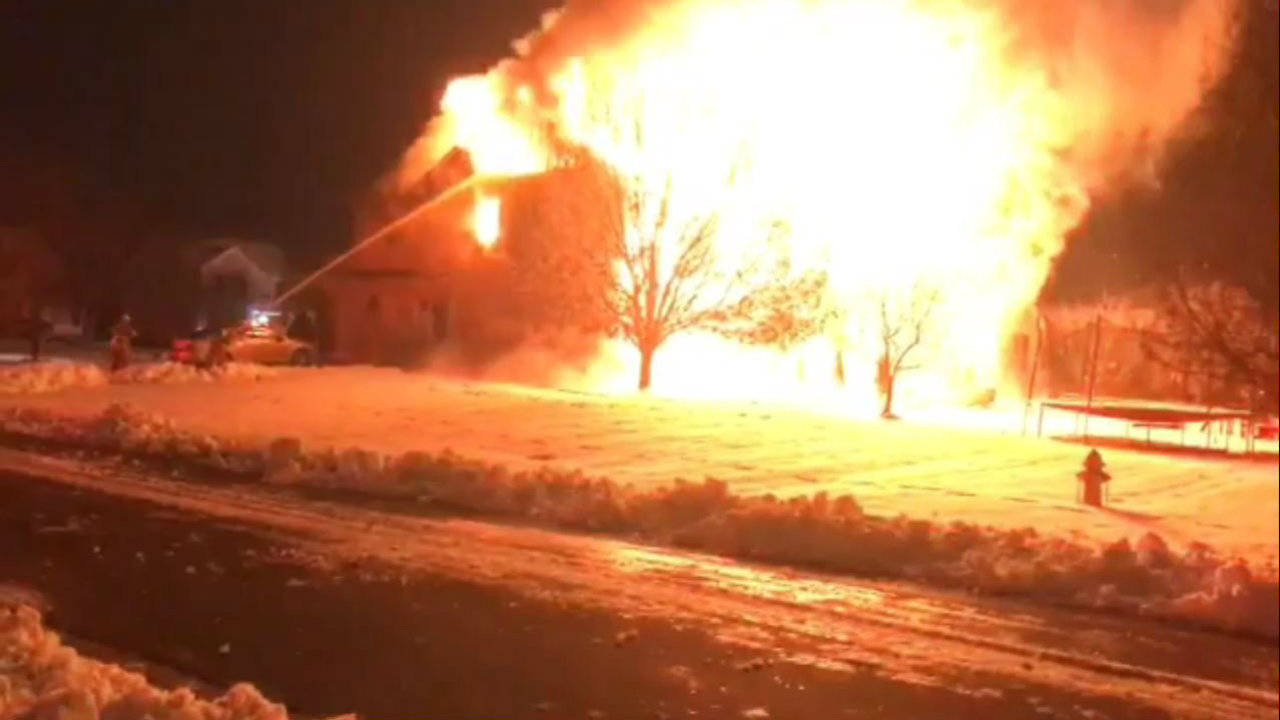 Man dies 2 days after house fire in Monroe Township