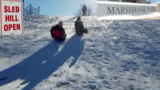 Rod Meloni: Children rule at Marshbank Park sledding hill